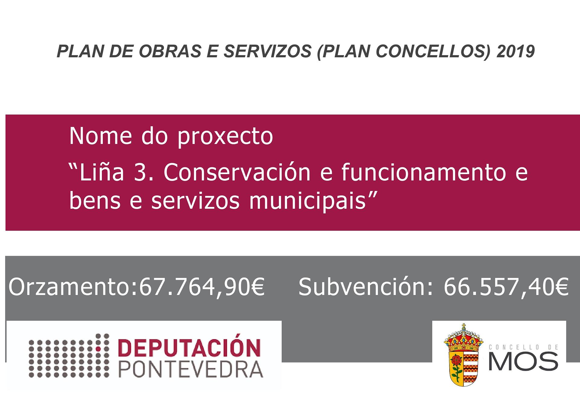 Plan Concellos 2019 - Liña 3